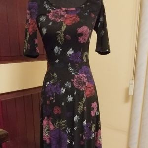 LuLaRoe long sleeve dress